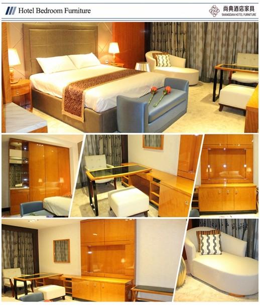 Wholesale 2016 modern bedroom sets used hotel furniture