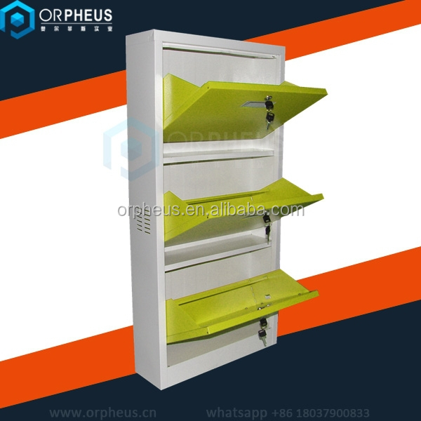 colorful folding metal shoe rack stainless steel shoe rack cabinet