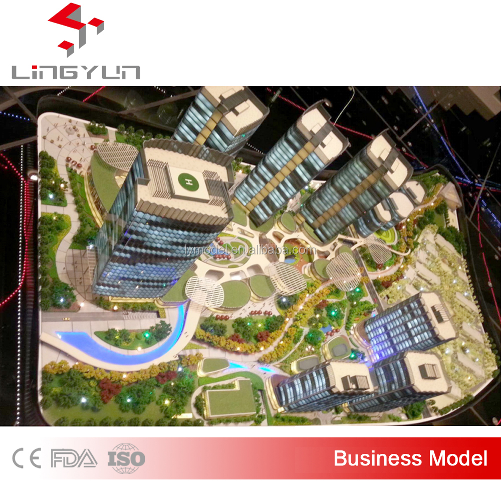 Professional scale models 3d model with high quality