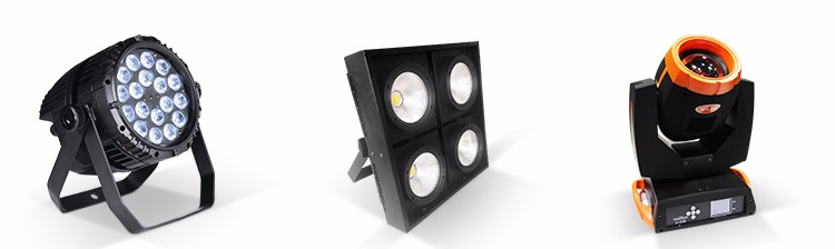 2017 New stage special effect light 6x6 36pcs 3w led gold matrix light