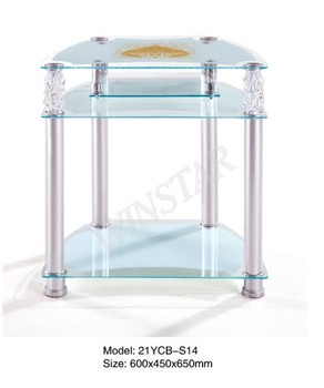 Modern Led Tv Table Design Corner Lcd Tv Corner Table Three Layers Tv Stand  Table