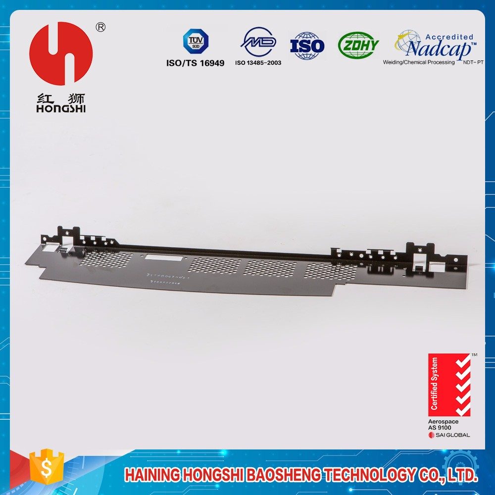 Compound blanking Bending forming traverse control panel steel bend