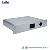 custom design shenzhen supplier aluminum plate Conference host 2U electronic video matrix chassis