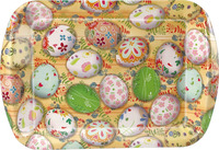 Plastic easter egg decor household item hard plastic plates,colored plastic tray