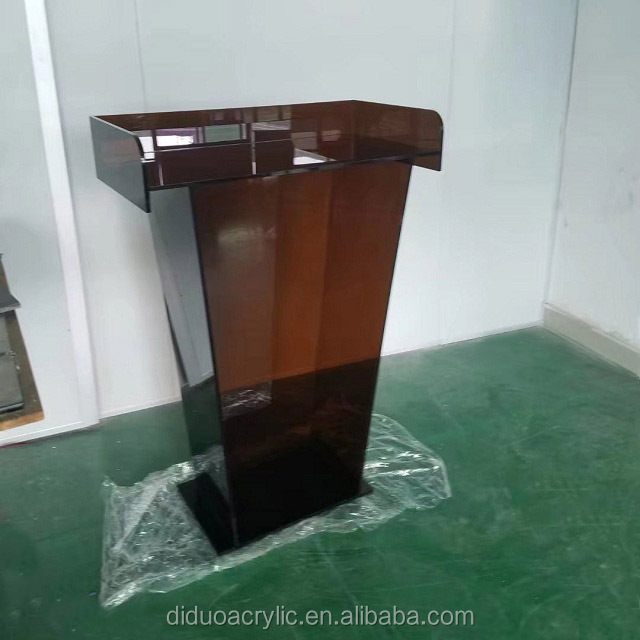 DDL-0107 Trade Assurance Used Acrylic Podium