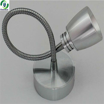 3w 110v 220v Flexible Hose Bedroom Bed Head Led Wall Reading Light ...