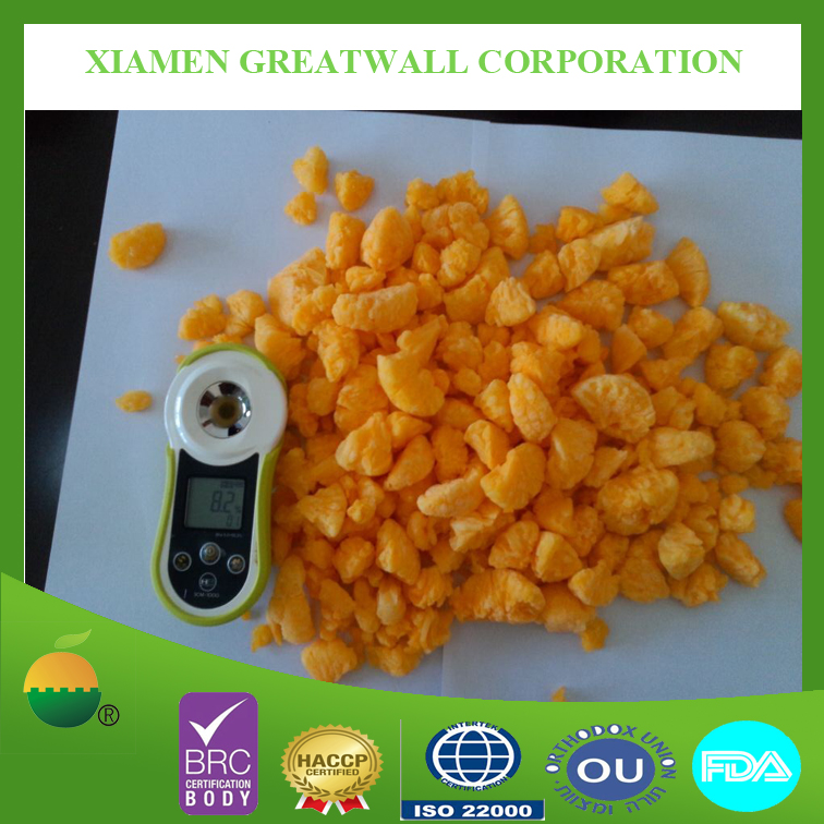 IQF frozen mandarin orange crumbles for sale with good quality