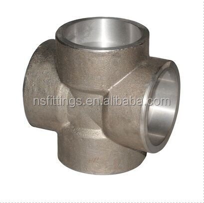 cross stainless steel SW cl3000 ASME B16.11 A182 F304/304L