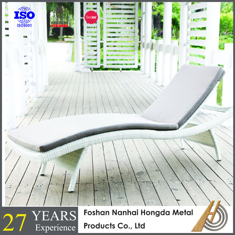 swimming pool PE rattan chair lounge