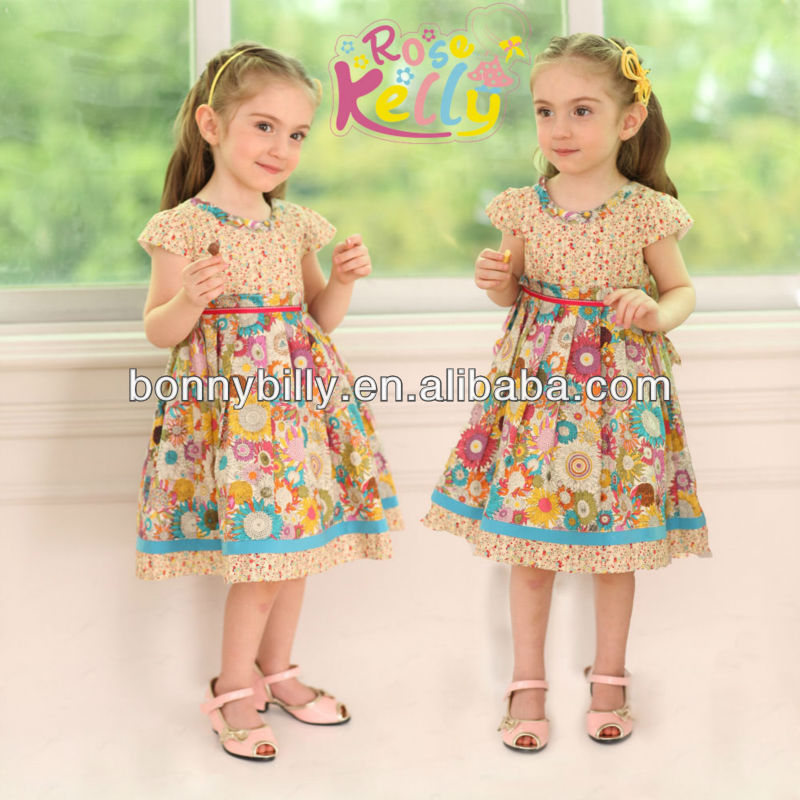 Flower Baby Girl Dress Of 2 Years Old Kids Baby Clothing Buy Baby