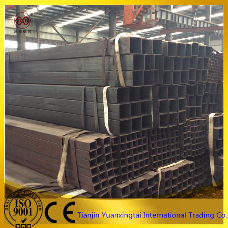 Nero duttile del ferro quadrato tubo d 39 acciaio tubo con for Ferro tubolare quadrato prezzo
