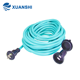 Japan 2 pin waterproof outdoor travel extension cord