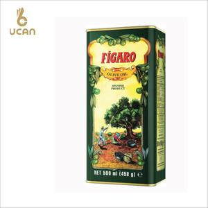Tin Material olive oil tin can 500ml