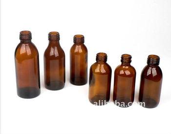 60-150ml Cheap Brown Small Glass Medicine Bottles