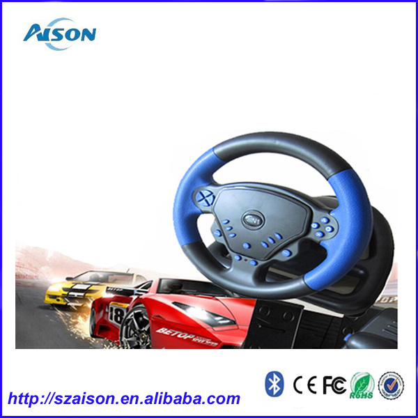 Video Game Steering Wheel For PS2/PS3/PC