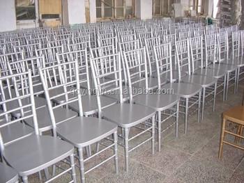 Silla Tiffanychairs Silver And White Wedding Underplate Tiffany Chair