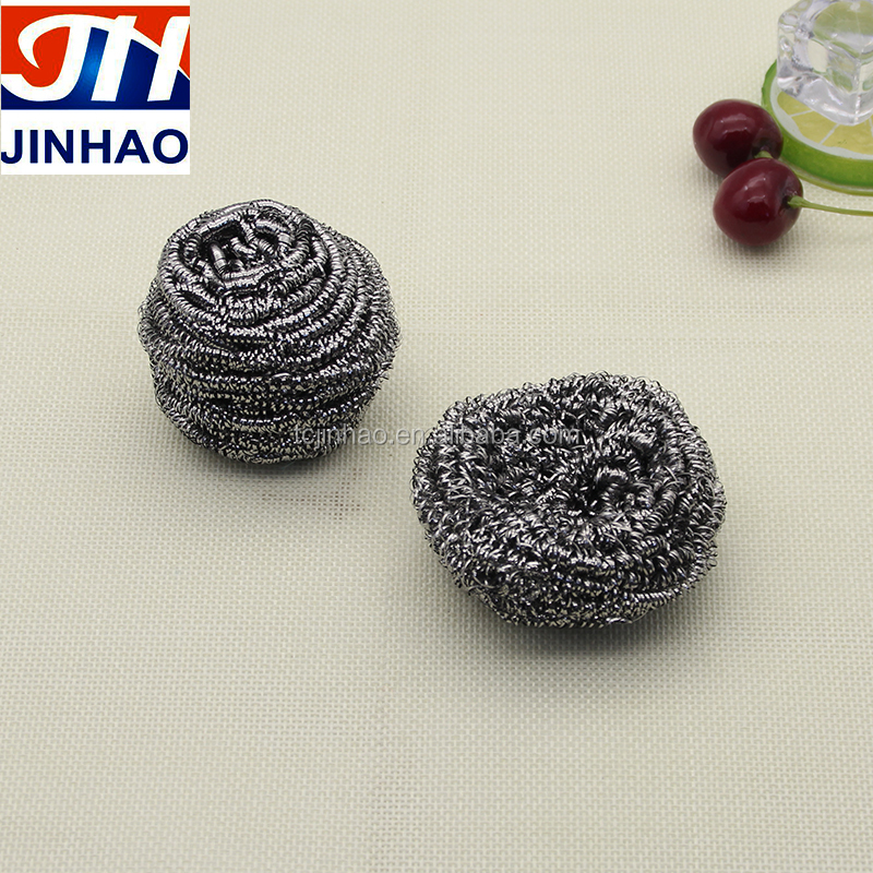 AISI 410 and 430 Stainless Steel Kitchen Spiral Cleaning Scourer