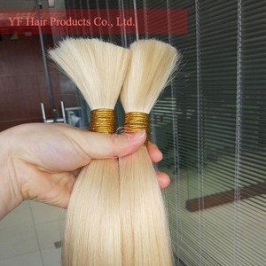 Hot!!! hollywood hair weave, ombre hair extension #613 hair bulk in stock