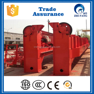 High Quality European Style Double Girder Bridge Cranes 50/10t Exported Many Countries