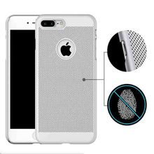Top Rated Item Heat Dissipation Function Net Mesh PC Phone Case for iPhone 7