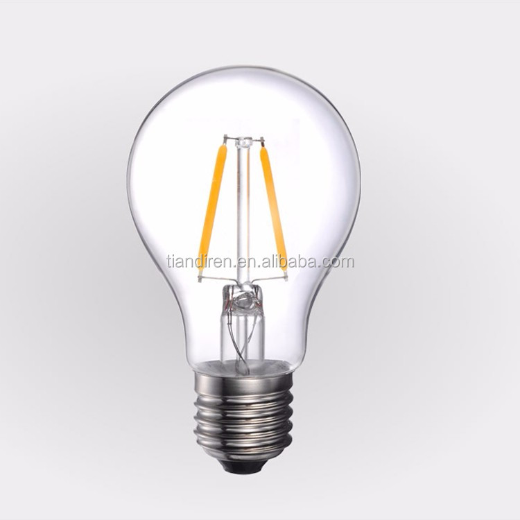 E27 220v Led Filament Type 2 Watt A55 Equal To 25 Watt Traditional ...