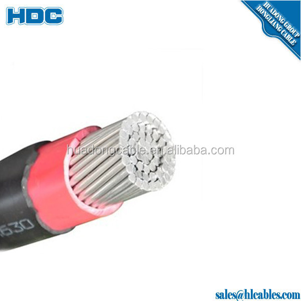 Aluminum conductor PVC insulation sheath underground 0.6/1KV electric power cable
