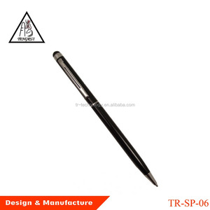 smartphone screen touch stylus pen bulk selling cheap pen no minimum order promotional gift ball-point pen with custom logo