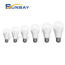 Pabrik <span class=keywords><strong>LED</strong></span> Foshan E27 B22 Dasar 3 5 7 9 12 15 18 Watt Dimmable <span class=keywords><strong>LED</strong></span> Bulb 110lm/W