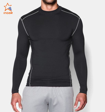 2018 mens compression wear custom blank long sleeve compression t shirts wholesale in bulk