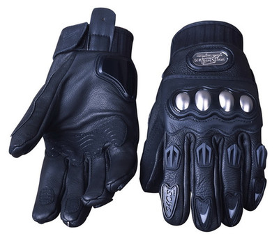 Motorcycle leather gloves winter cross-country racing motorcycle riding knight gloves