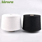 High Quality bleached regenerated cotton yarn 20/1 NE20S cotton yarn for weaving machine