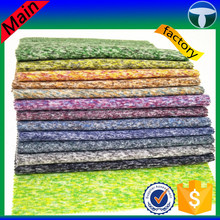 Colorful knitted 100% polyester fleece fabric for sweater