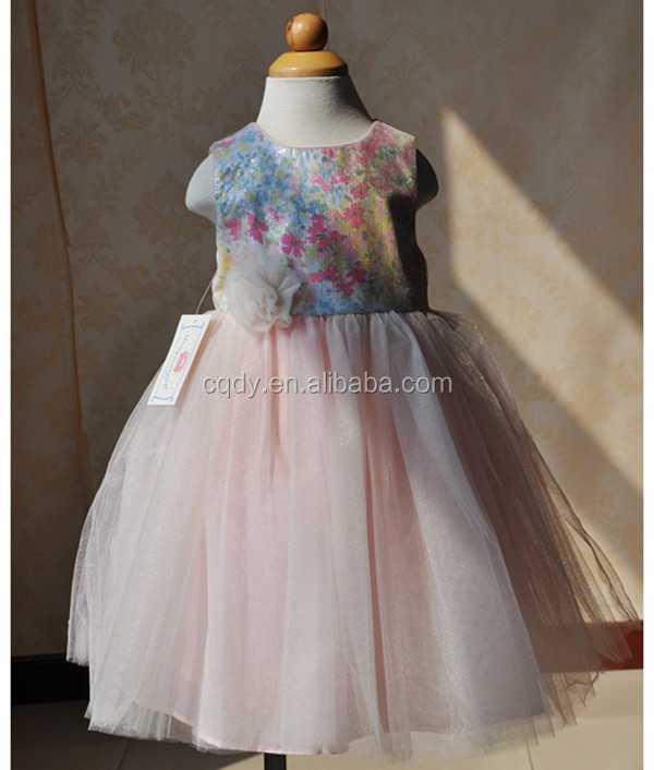 85c571513 2015 Princess Kids Frocks Designs India Baby Girl Party Dress ...
