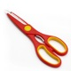 Hot new products separable kitchen scissors qualified professional gold handle laser
