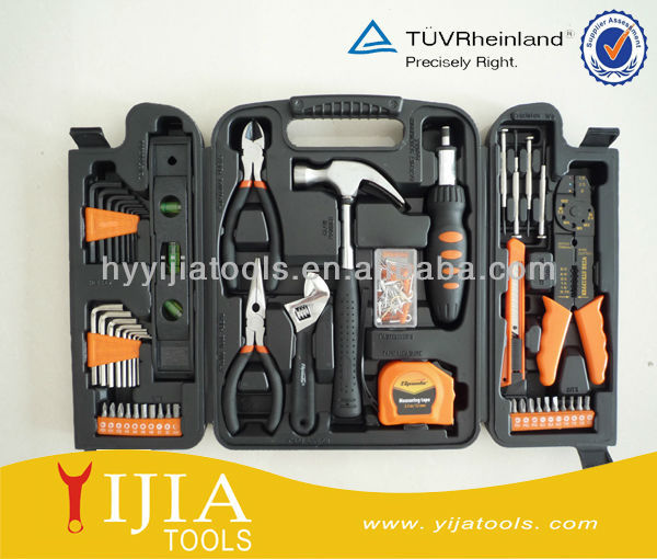 129pcs Household tool <strong>kit</strong> with plastic box