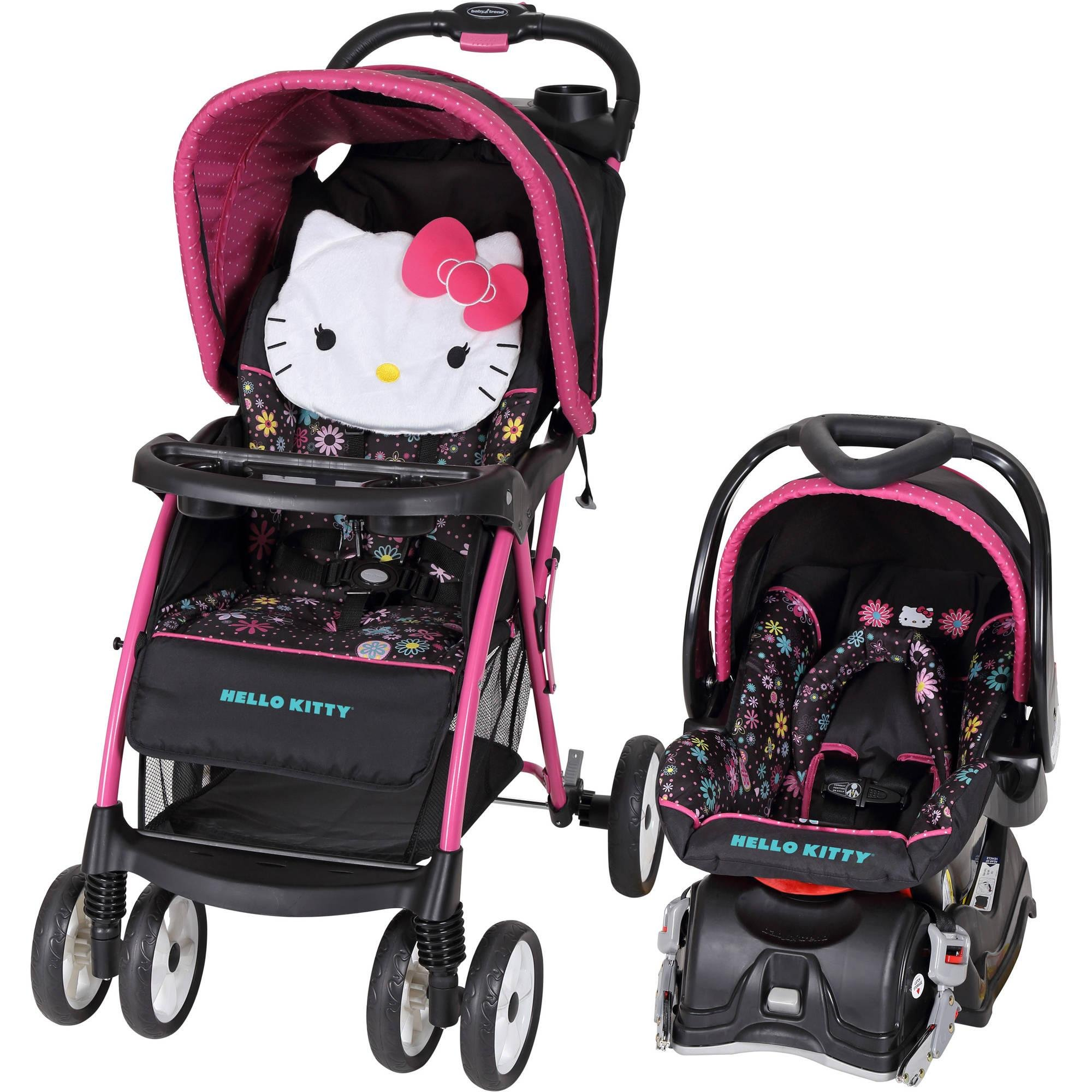 88326572d071 Buy Baby Trend Hello Kitty Venture Travel System in Cheap Price on ...