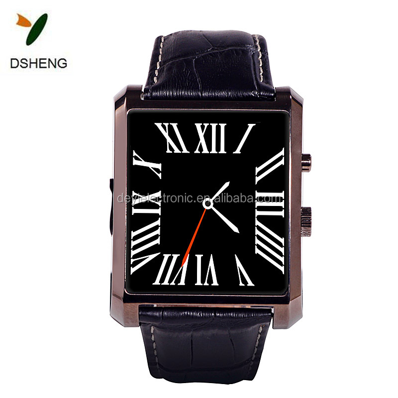 "Wireless Smart Watch Phone 1.54"" Touch Screen GSM Support SIM TF Camera Smartwatch for Android Cell Phone Sync SMS Phone Book C"