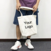 2019 Hot Unisex Natural Tote Bag Canvas with Logo