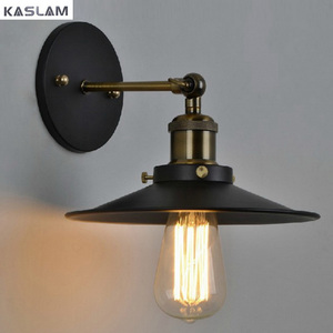 Adjustable Retro Industrial Wall Sconce Vintage Wall Lamp Iron Wall Light Antique Balcony E26/E27 Edison Bulb Lamps Holder