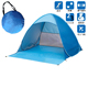 Factory Automatic Pop Up Instant Outdoors Sun Shelter , beach tent