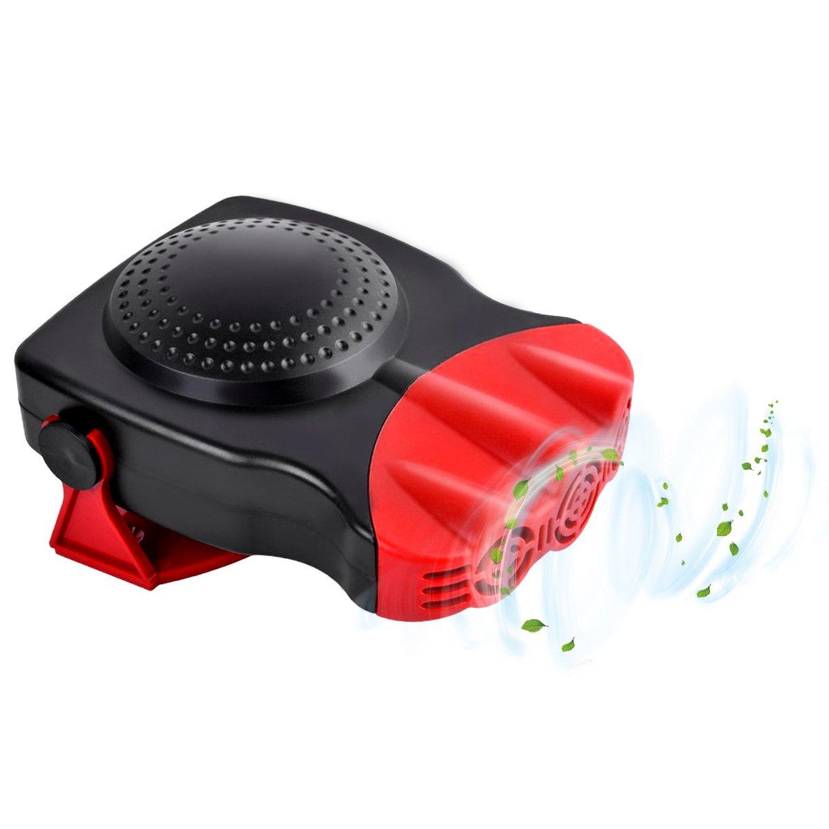 2 In 1 Electric Car Ceramic Heating Cooling Dryer Warmer Fan Demister Defroster Ebay Motors Exterior
