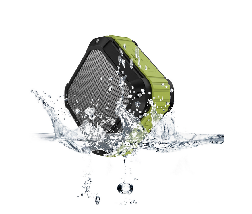 2016 New Products Wireless Stereo Outdoor Waterproof Shockproof Bluetooth Speaker with Fm Radio
