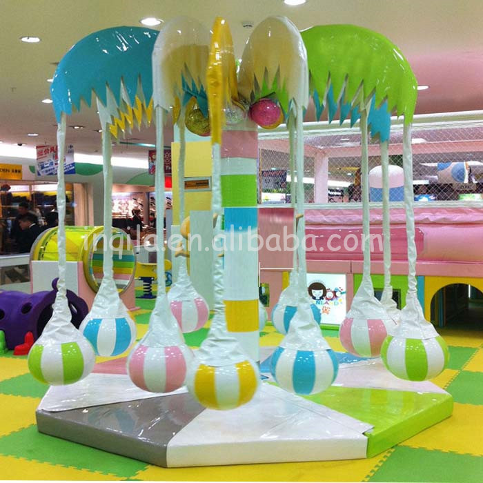 kids merry go round, Carousel,Amusement park children equipment park riders Small Carousel toy for Sale