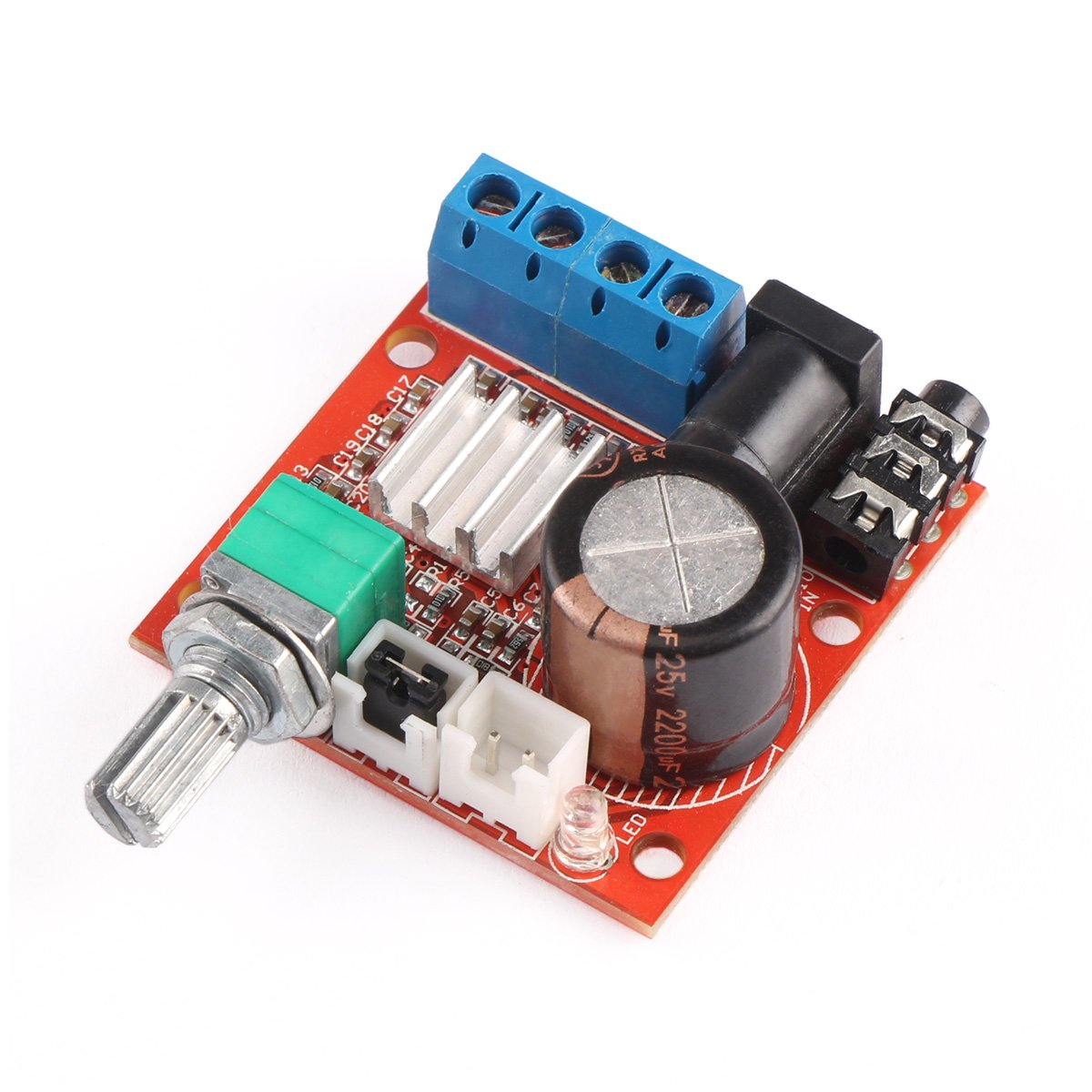 Cheap 10w Audio Amplifier Circuit Find Amp Get Quotations 12 Volt Board Drok Pam8610 Mini Stereo Digital Amplify