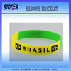 2014 brazil world cup silicone wrist band