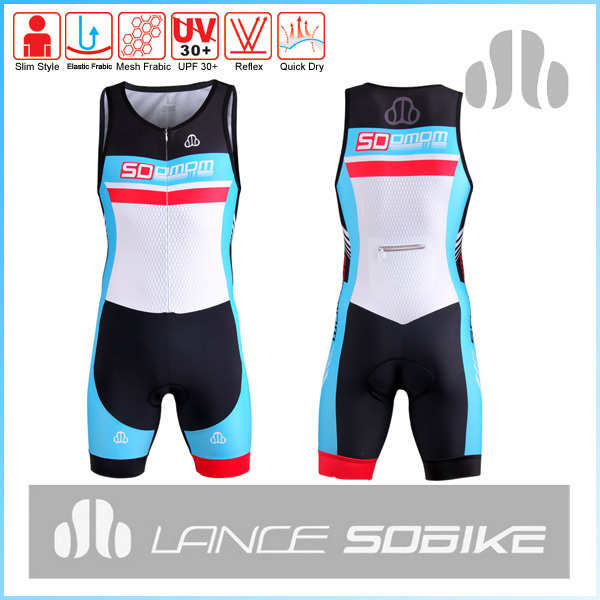 custom compressive triathlon for pro race multiple color choice wetsuit with comfortable pad swim wear