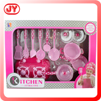 Pretend kids play toy cooking toy kitchen set