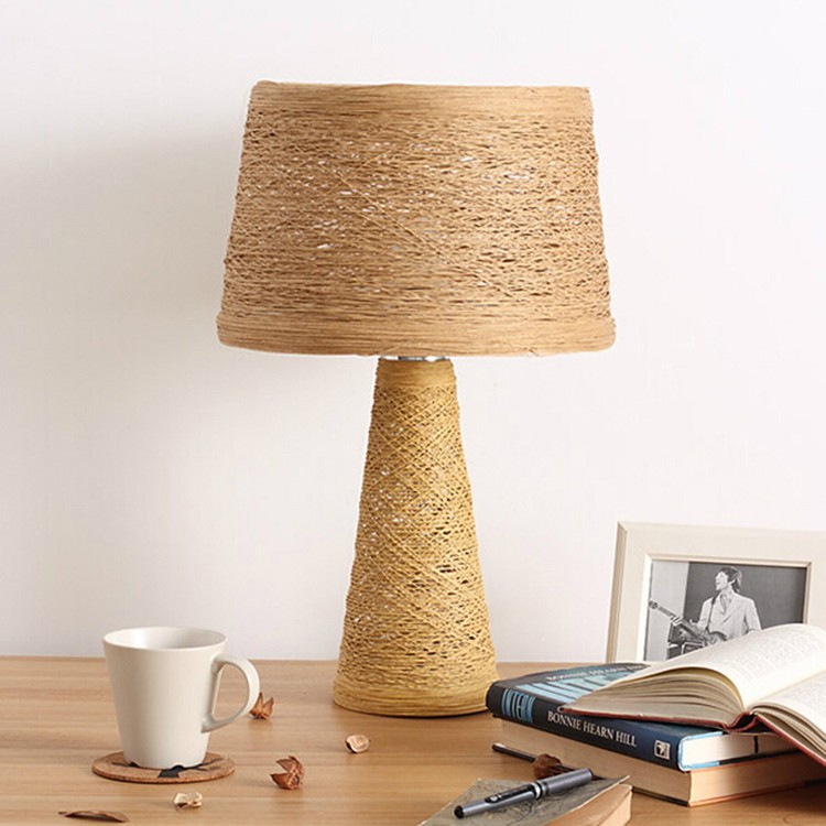 Decorative office desk lamp reading lamps warm light hotel modern decorative office desk lamp reading lamps warm light hotel modern bamboo paper table lamp mozeypictures Images