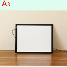 Manufactor! A3 LED drawing sketch tracing board light tracing pad led writing board for animation