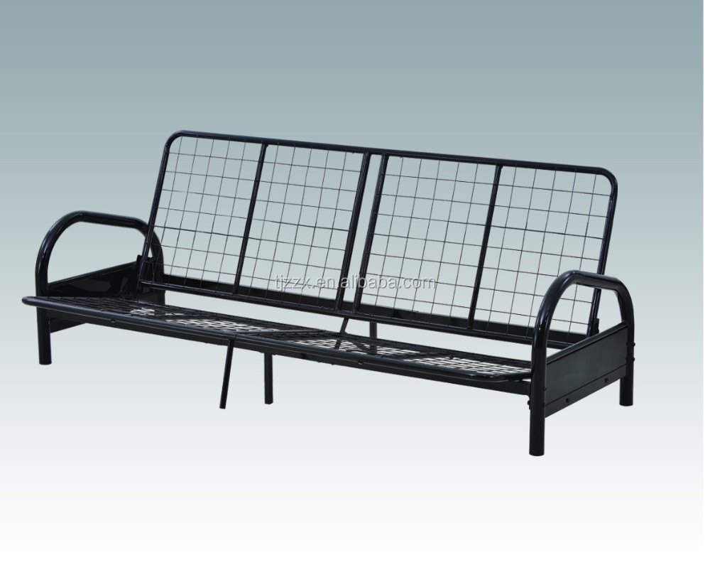 Sofa bed metal frame thesofa for Divan furniture